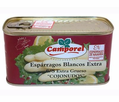 esparrago blanco,camporel,navarra,distribuidor galicia,dialgava